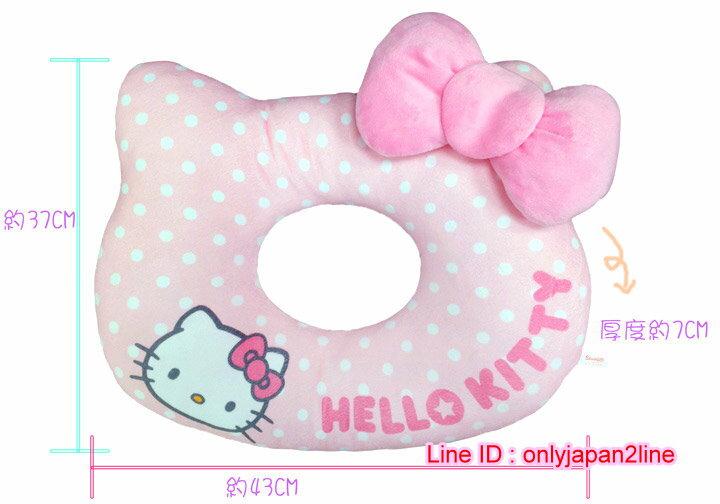 【真愛日本】16112300020 造型親子多功能枕-KT粉結 三麗鷗 Hello Kitty 凱蒂貓 坐墊 靠墊 墊子 正品