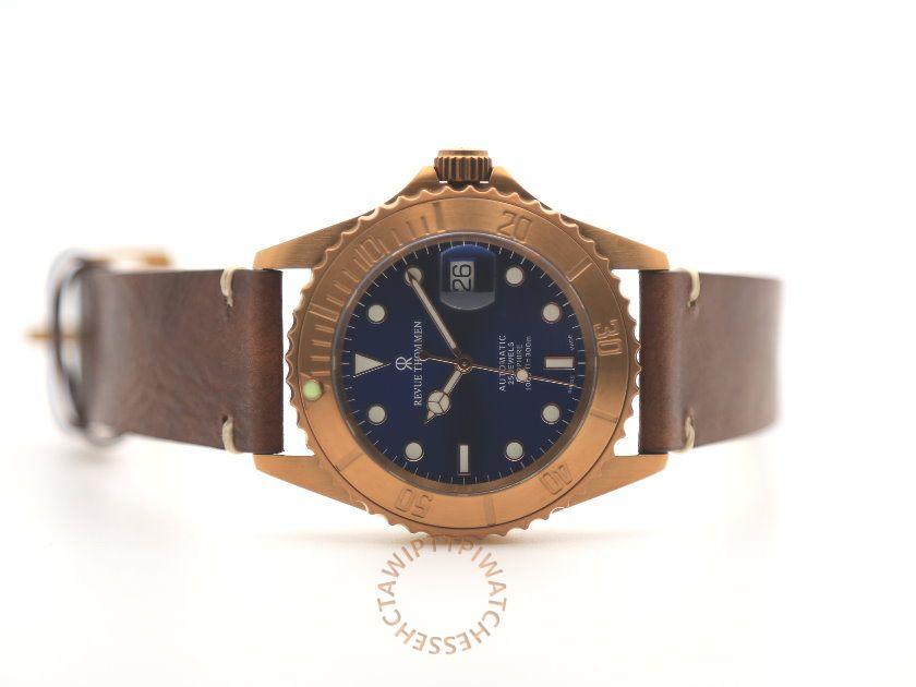 REVUE THOMMEN 梭曼 Diver XL Automatic Men's Watch REF. 17571.2595 4