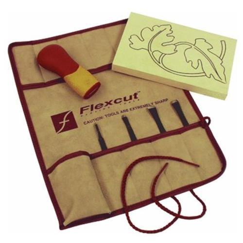 Flexcut Tool Co 5-Piece Craft Carving Kit
