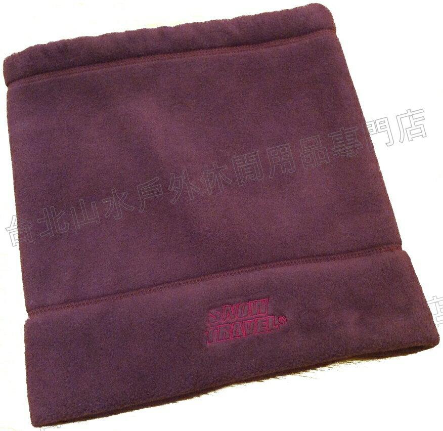 雪之旅 保暖脖圍/圍巾/毛帽/登山/滑雪/出國/寒流保暖 AR-16 紫色
