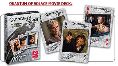 【Playwoods】[博弈Casino] 007電影獨家授權:James Bond 詹姆士龐德限量德州撲克版卡精品~量子危機