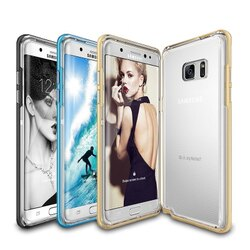 REARTH SAMSUNG NOTE7 Galaxy Note 7雙層pc邊框防撞邊框透明背蓋手機殼