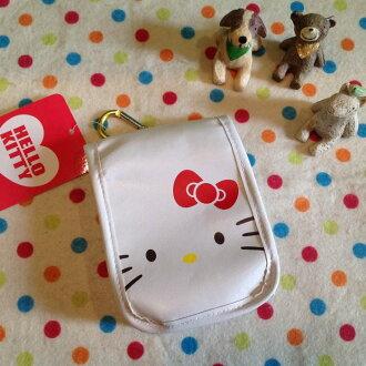 =優生活=【出清特價$250】日本原裝Hello Kitty 收納包 手機袋 包包掛袋 香菸收納包