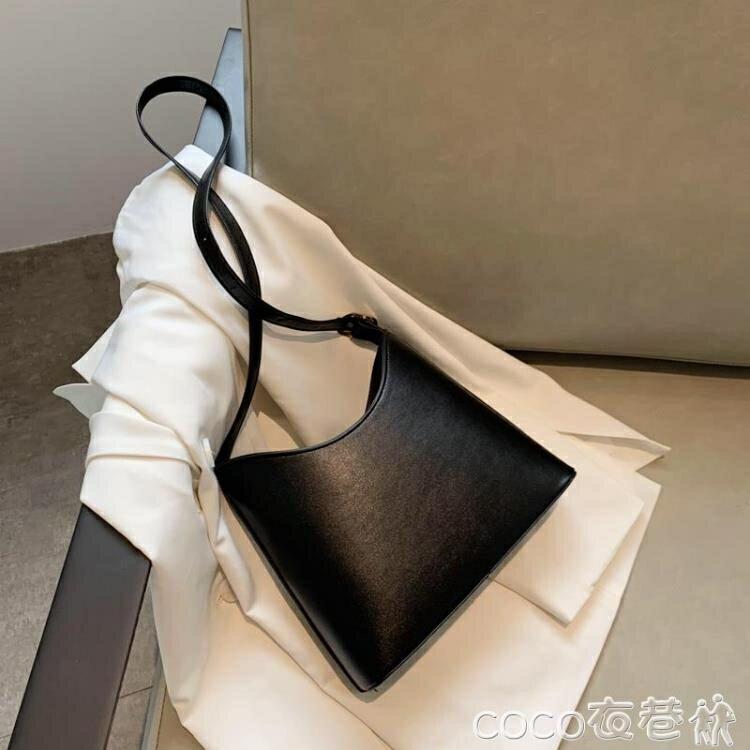水桶包 森系小包包2021新款潮流行韓版水桶包簡約百搭小眾側背斜背包女包【居家家】