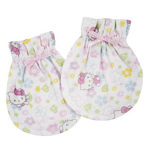 【奇買親子購物網】Hello Kitty 凱蒂貓嬰兒手套