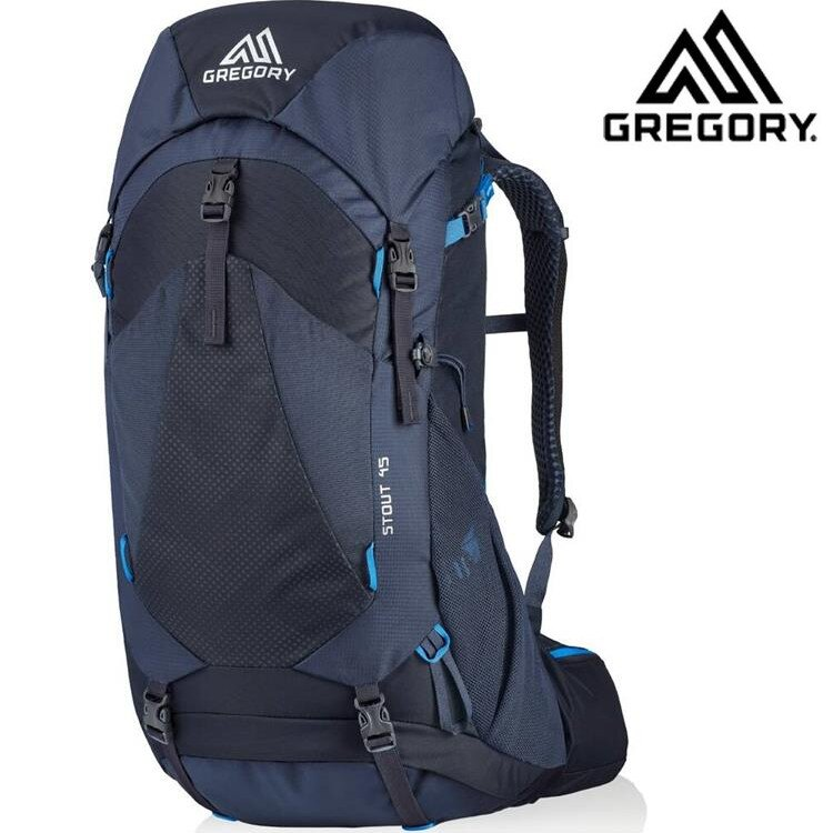 Gregory 後背包/登山背包/郊山背包 Stout 45 登山包45升 126872 幻影藍 8320