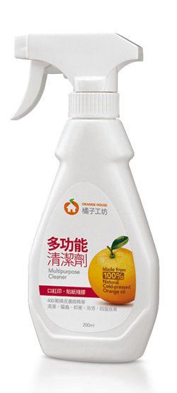 【橘子工坊】橘子先生多功能清潔劑-200ml(4712318590161)