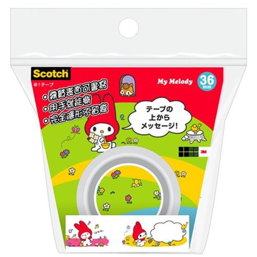 來易購:3MScotch隱形膠帶MyMelody-ATM36-MM01