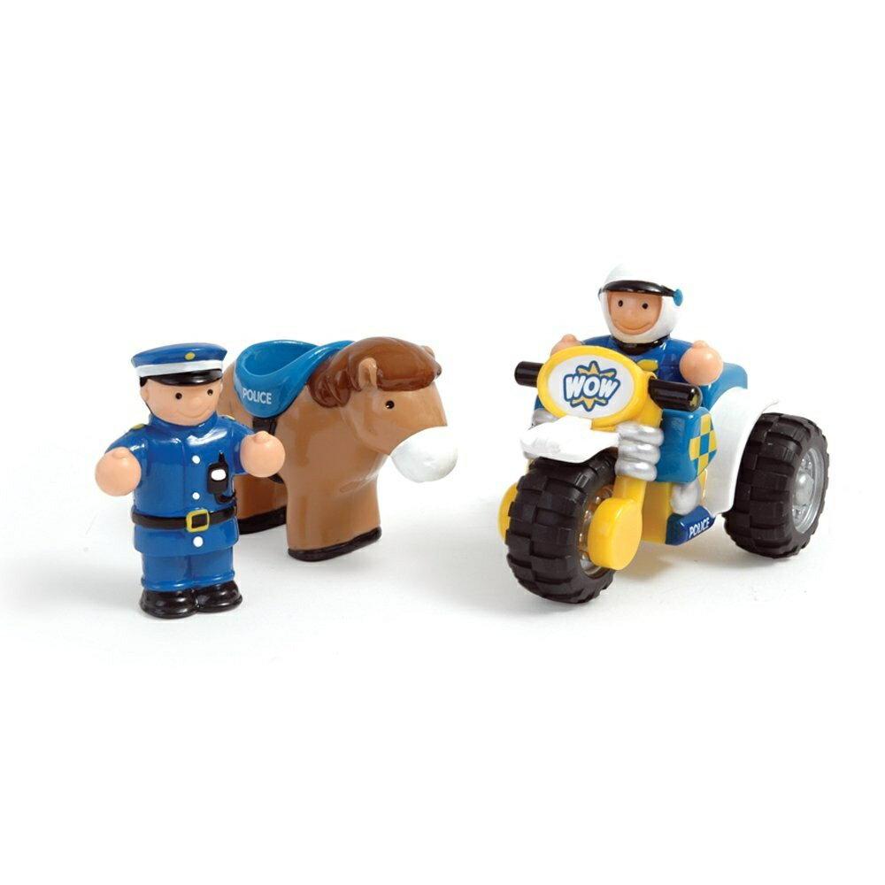 【英國wow Toy】玩具車 巡邏騎警好兄弟(強尼與米奇) #10200