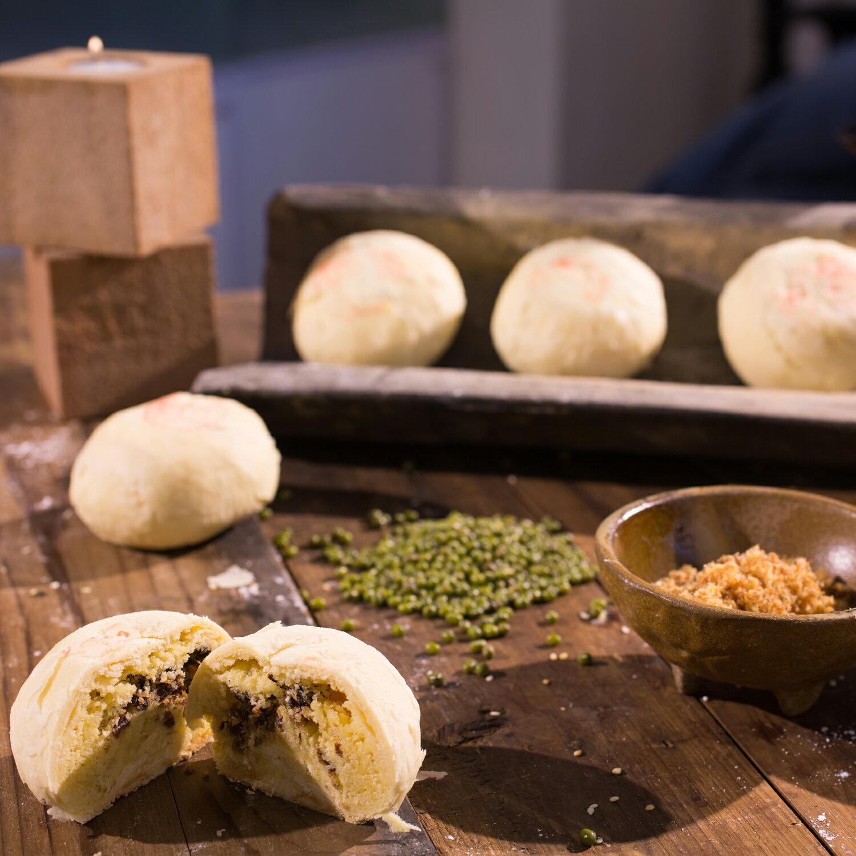 三統漢菓子鄉愁綠豆椪