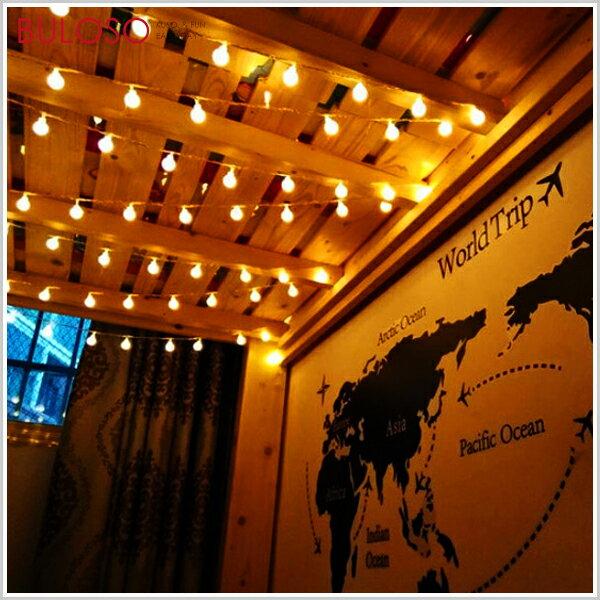 《不囉唆》聖誕-磨砂珍珠燈串(28燈)裝飾擺設節慶慶祝(不挑色款)【A426354】