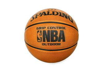 [陽光樂活]斯伯丁 SPALDING NBA  Grip Control 專業橘 – Rubber #7 (SPA83082)