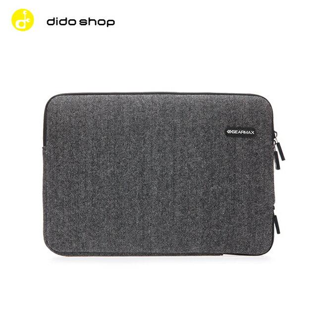 MacBook  11.6吋 英倫人字紋毛呢避震袋 筆電包 電腦包 ^(DH136^)~
