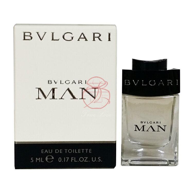 寶格麗 BVLGARI 當代男性淡香水 5ML ☆真愛香水