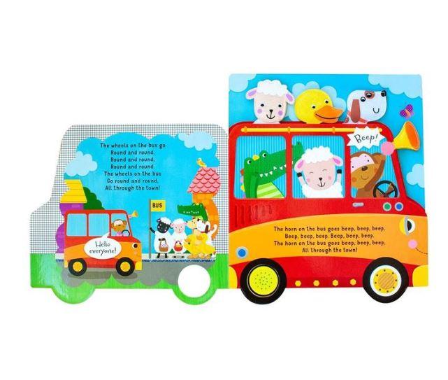 兒童有聲書 (外文書) Wheels on the Bus