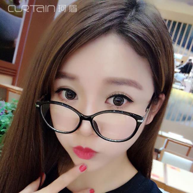 50%OFF【J020086GLS】新款復古半金屬權志龍眼鏡框大框潮流男女框架眼鏡