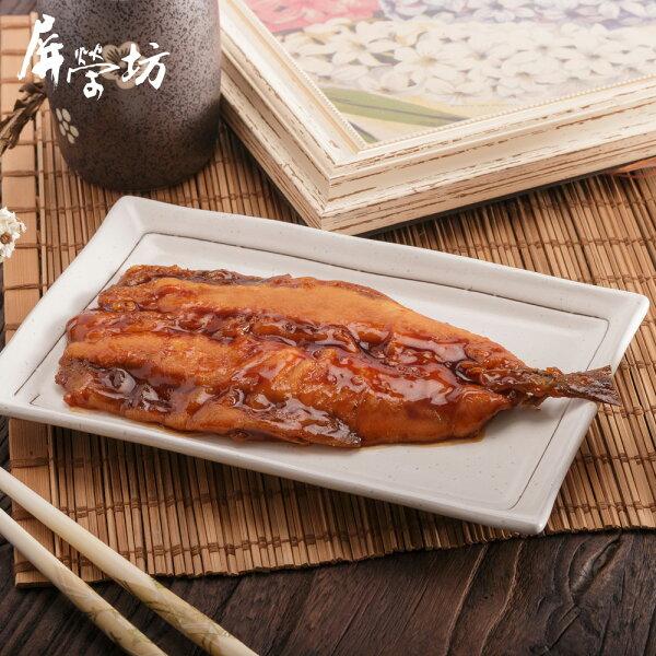 【屏榮坊】唐揚蒲燒秋刀魚<120g片>(日式風味海鮮料理包)