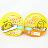 【敵富朗超巿】蛋黃哥布丁捏捏樂-雞蛋 1