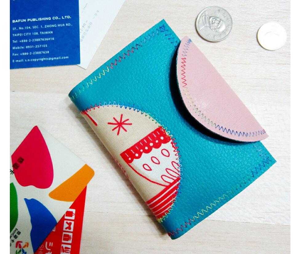 塗鴉票卡名片夾零錢包Card case coin purse 全程台灣製作 Anitajewel