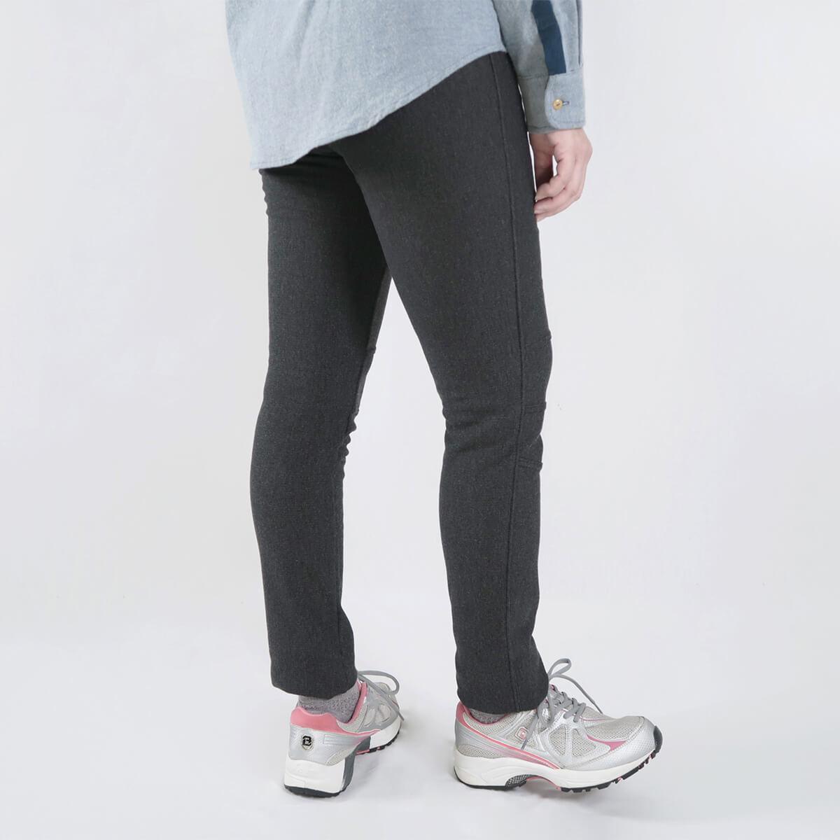 超保暖刷毛內搭褲 台灣製內搭褲 超彈力內搭褲 精絲保暖褲 修身顯瘦長褲 內裡刷毛 全腰圍配色寬版鬆緊帶 黑色長褲 MADE IN TAIWAN WARM PANTS FLEECE LINED LEGGINGS (012-6100-21)黑色、(012-6100-22)深灰色 腰圍M L XL(26~31英吋) 女 [實體店面保障] sun-e 9