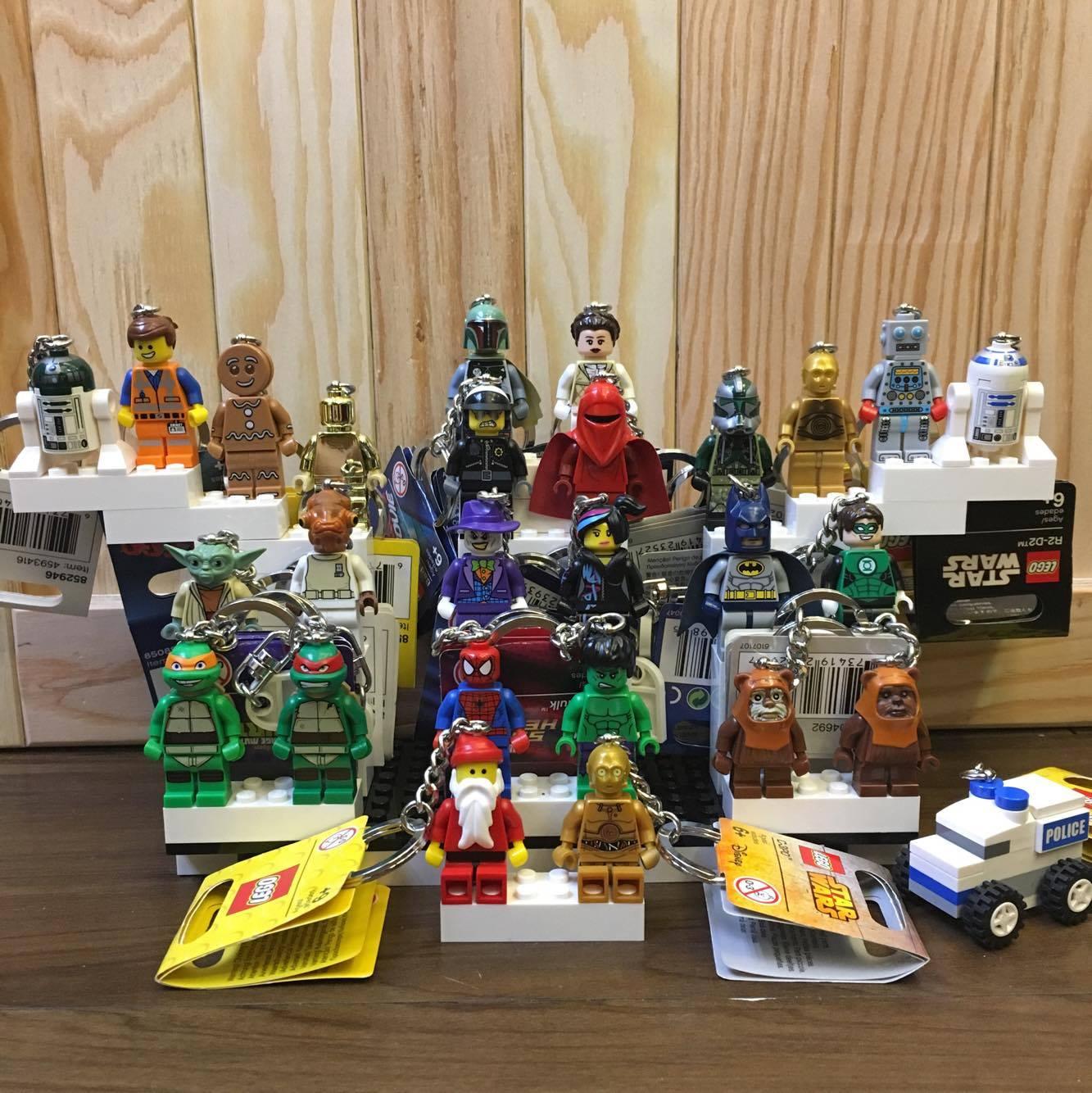 BEETLE LEGO SUPER HEROES SPIDER MAN 蜘蛛人 彼得 班傑明 樂高 積木 鑰匙圈 玩具 3
