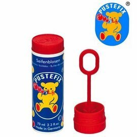德國 Pustefix 經典款魔力泡泡瓶 70ml 】【不逆流吹嘴設計不誤食】【紫貝殼】