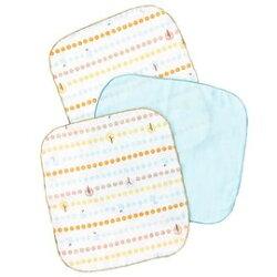 奇哥快樂森林紗布方巾(3入) /紗布手帕 128元