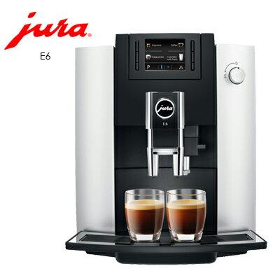 《Jura》家用系列 E6全自動咖啡機●●贈上田/曼巴咖啡5磅●●