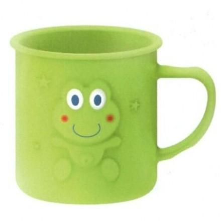 大眼蛙 Dooby耐溫喝水杯(綠/粉)