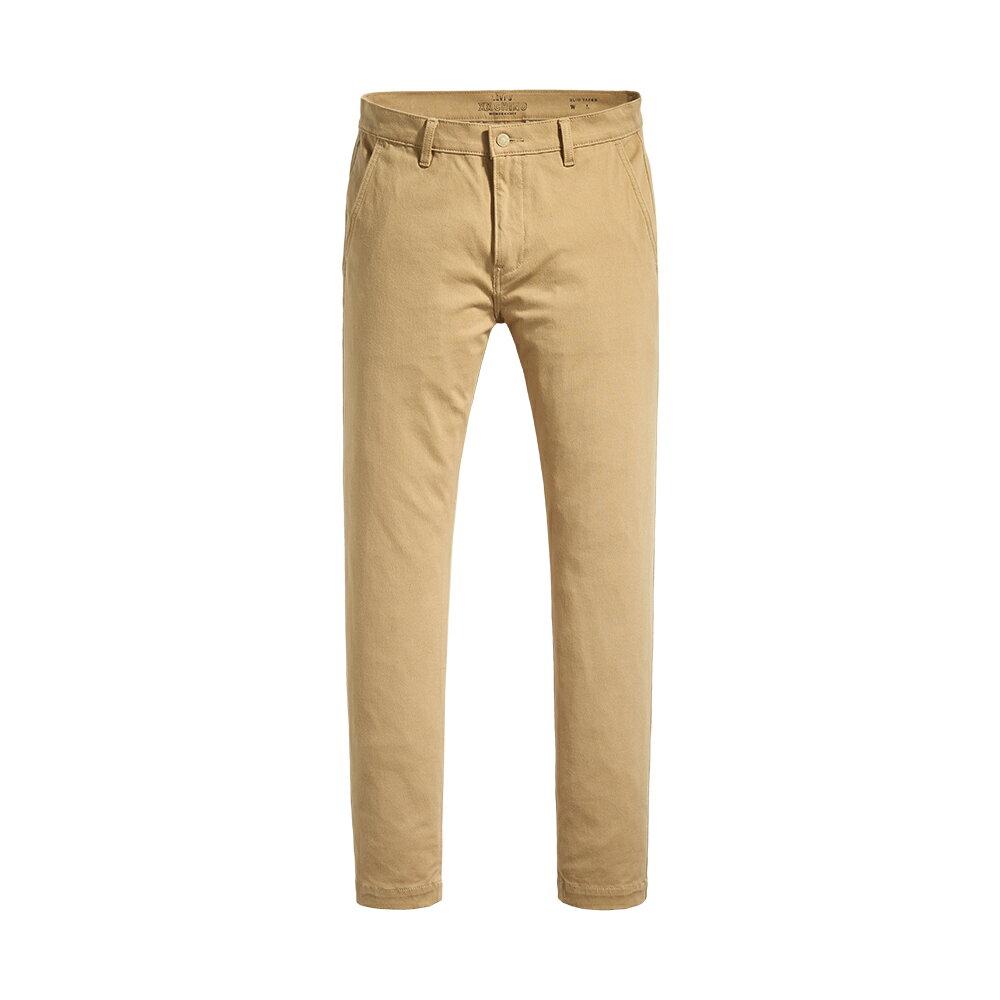 Levis 男款 Chino卡奇休閒褲  /  上寬下窄修身窄管版型  /  防盜暗袋  /  超彈力布料 1