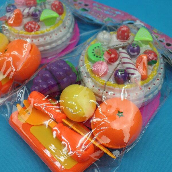 趣味水果蛋糕切切樂 D580 小手提盒切切樂/一盒入{促199} ST安全玩具~生