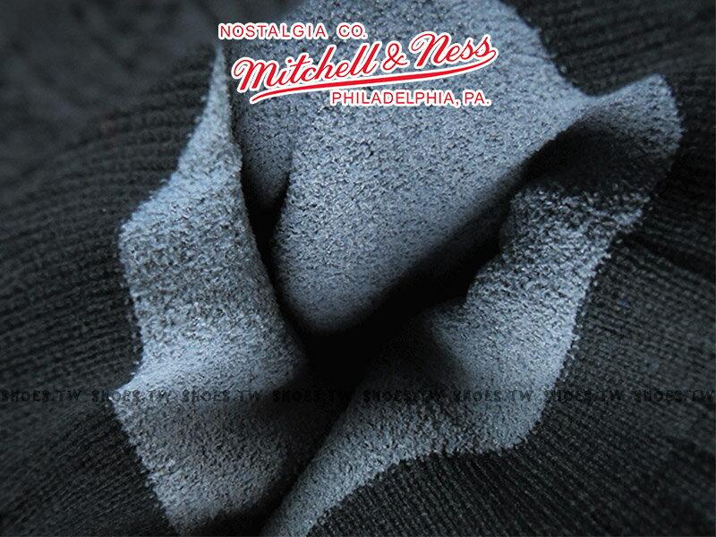 《下殺6折》Shoestw【5056036179529】Mitchell & Ness 毛帽 NBA毛帽 公牛隊 內刷毛 黑紅 2