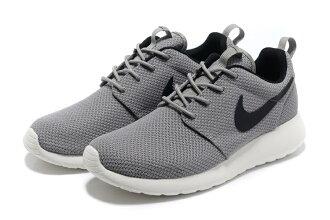 Nike Roshe Run 倫敦奧運網布慢跑鞋 男鞋 (灰黑39-44)