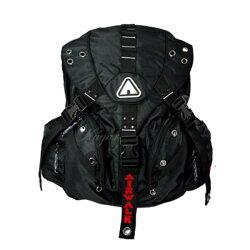 【加賀皮件】AIRWALK 美國街頭風 夠壞前衛三叉扣 後背包 登山包 AB71050