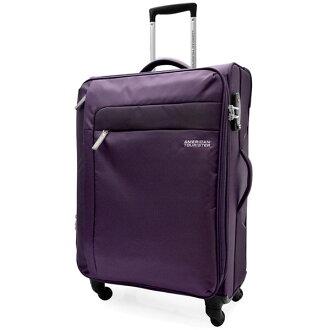 【加賀皮件】AT美國旅行者 SURF 20吋 超輕量布面四輪360度 行李箱 旅行箱 27R