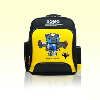 【加賀皮件】UNME台灣製造 機器人天使鏡面3M反光 書包後背包 3077A