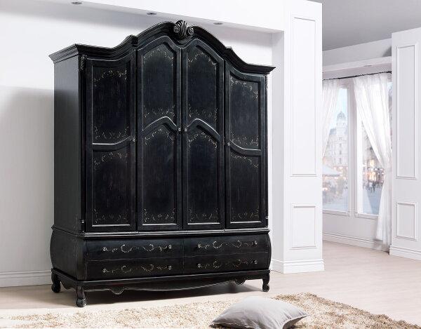【尚品家具】HY-A14-01卡洛琳6.1尺四門衣櫥