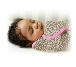 Summer Infant SwaddleMe懶人包巾0~3m S號 粉紅豹