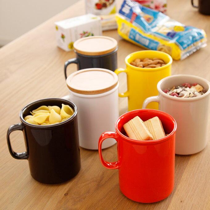 【This-This】日本 ideaco canister mug 馬克杯/食物罐(L) - 共三色