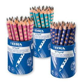 【德國LYRA】Groove三角洞洞鉛筆(粗12入) 產地:德國 ★加贈:原廠LYRA雙孔削筆器+橡皮擦