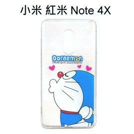 哆啦A夢空壓氣墊軟殼[嘟嘴]小米紅米Note4X(5.5吋)小叮噹【正版授權】