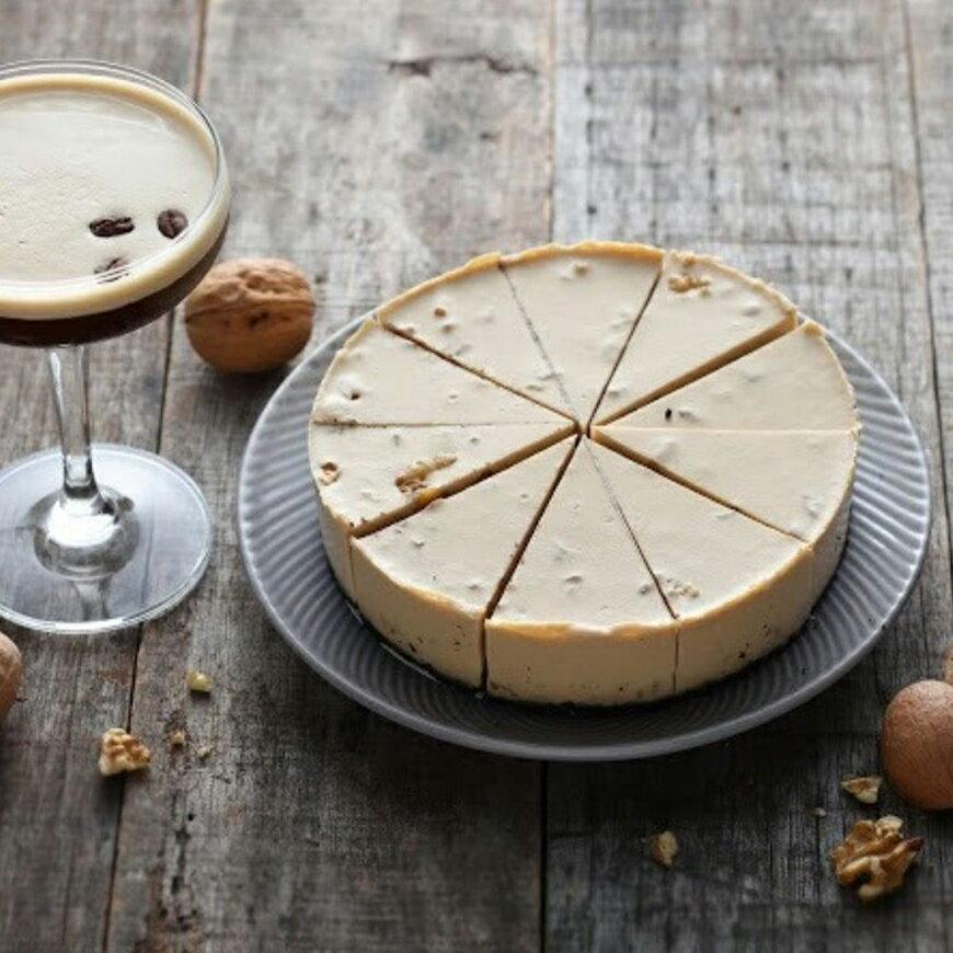 【水母吃乳酪】咖啡馬丁尼生乳酪,乳糖不耐症、素食者都可以吃