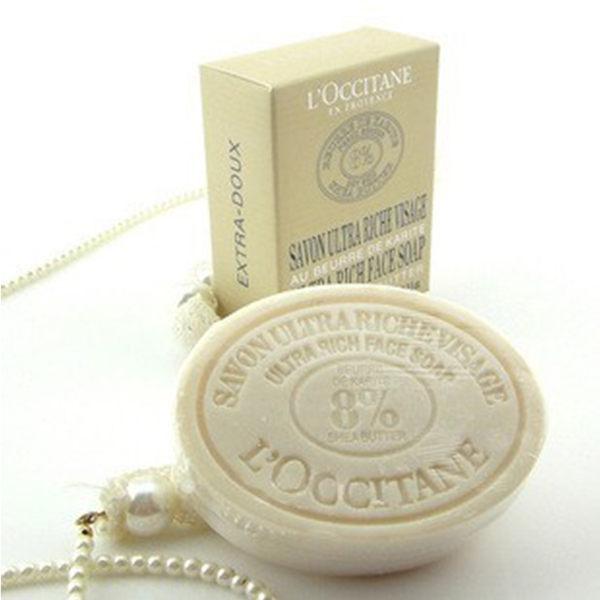 L'OCCITANE歐舒丹乳油木牛奶植物潔面洗臉皂100g【庫奇小舖】