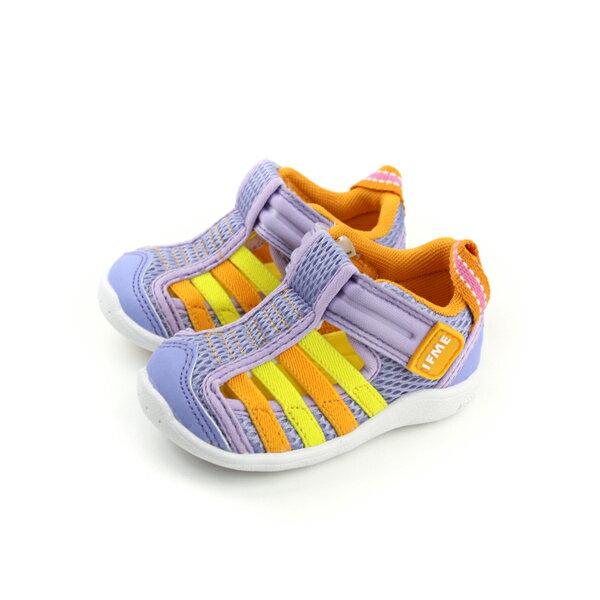 IFME運動鞋寶寶鞋機能鞋粉紫色小童童鞋IF22-800477no067
