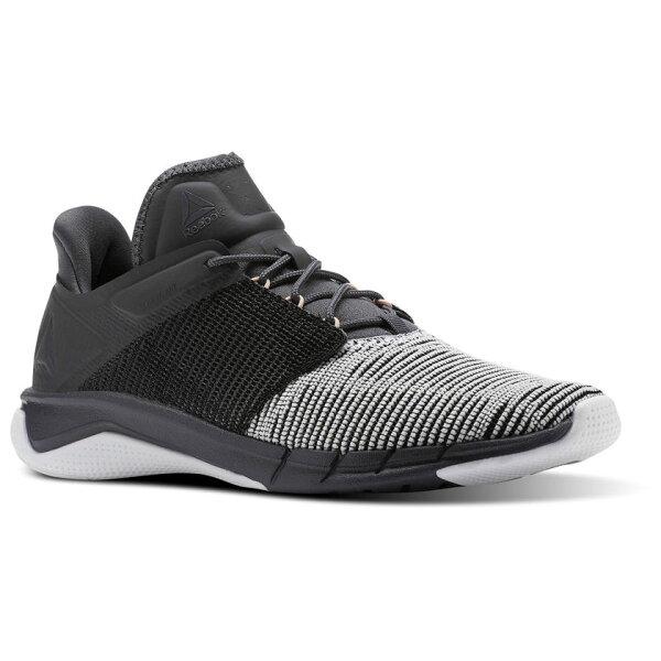 REEBOKFastFlexweave女鞋慢跑訓練健身有氧透氣輕量黑白【運動世界】CN1404