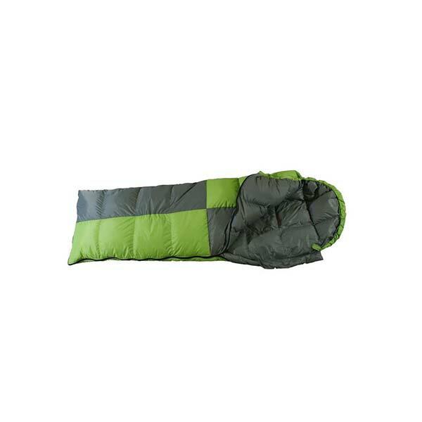 《台南悠活運動家》 FRIENDS SD-406白羽絨信封型立體隔間保暖睡袋600g