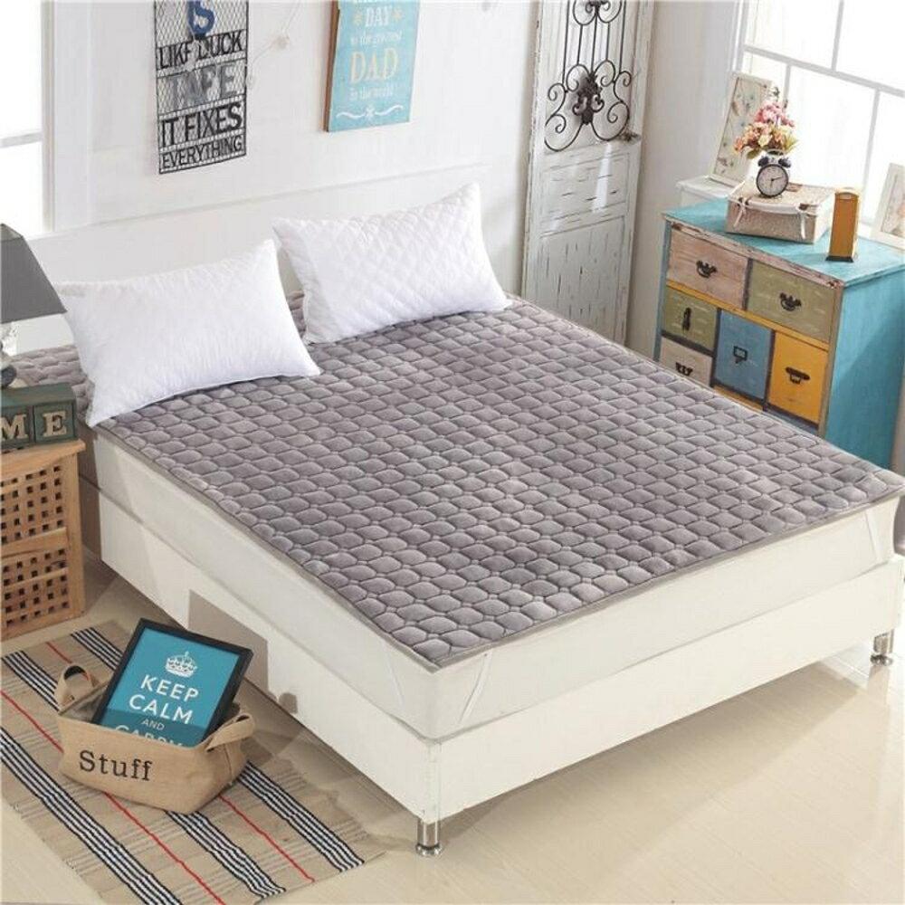 可水洗薄床墊床護墊床褥1.5m床1.8米床榻榻米防滑席夢思保潔墊 歐韓時代