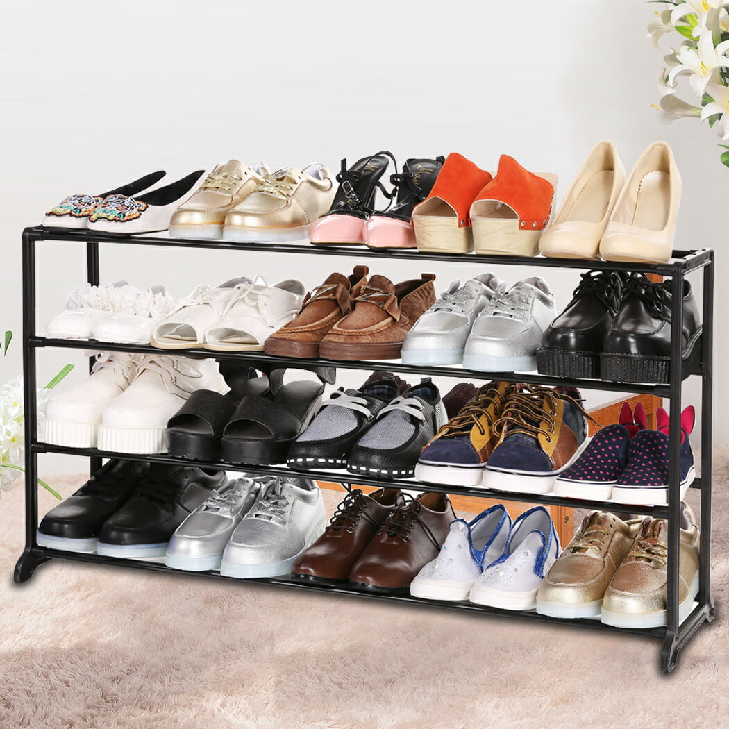 Portable 4/7/10 Tier Shoes Rack Stand Shelf Shoes Organizer Storage 0