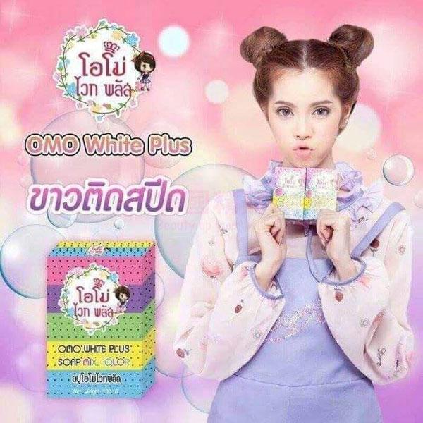 泰國 OMO PLUS SOAP 繽紛天然彩虹皂 多種水果萃取 100g/單入【特價】§異國精品§