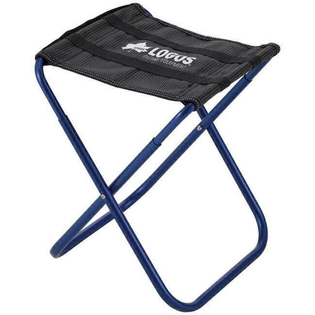 【鄉野情戶外用品店】 LOGOS |日本| 勇闖山森野營椅/折疊椅 釣魚椅 童軍椅 休閒椅-藍/LG73175008